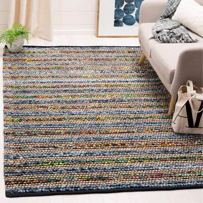 Abia Hand-Woven Area Rug Rug Size: Rectangle 5 x 8