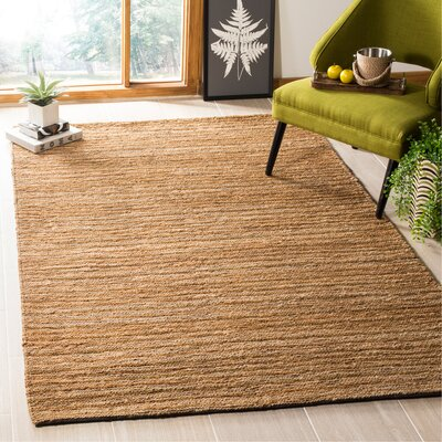 Feliciana� Natural Area Rug Rug Size: Rectangle 5 x 8