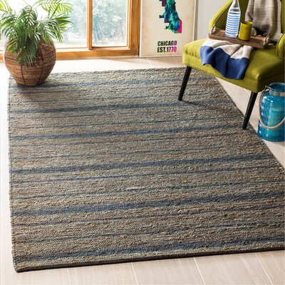 Feliciana�Blue Area Rug Rug Size: Rectangle 5 x 8