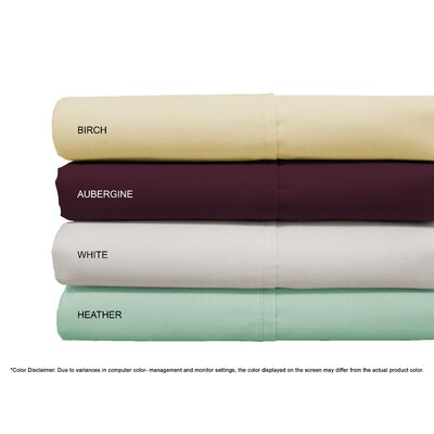 Valmir Hotel 500 Thread Count Sheet Set Size: King, Color: Blue