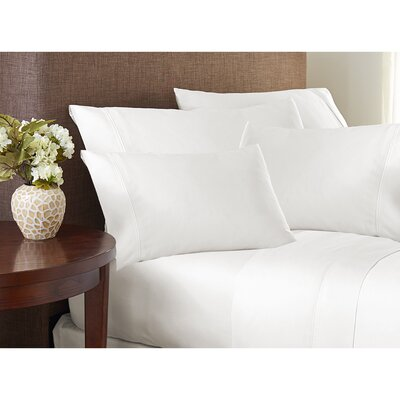 Valmir Hotel 500 Thread Count Sheet Set Size: King, Color: White