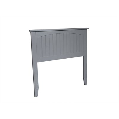 Bonomo Panel Headboard Size: Full, Color: Gray
