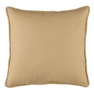 Cendy Cotton Throw Pillow Color: Tan