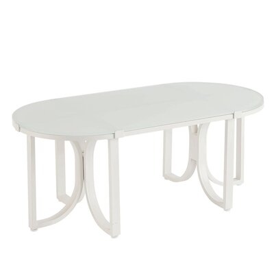 Dani Outdoor Oval Coffee Table