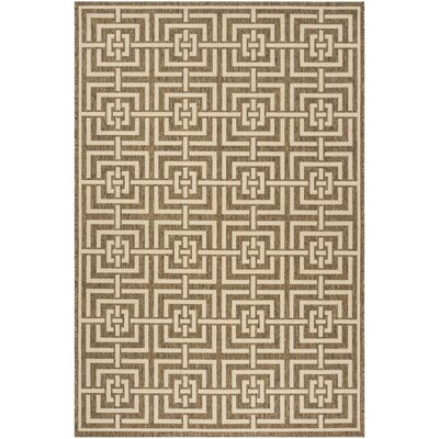 Adalbert Beige/Cream Area Rug Rug Size: Rectangle 4 x 6