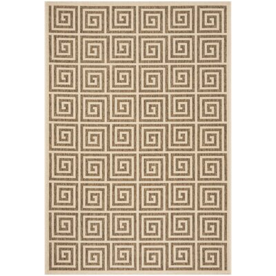 Adalbert Beige/Cream Area Rug Rug Size: Rectangle 9 x 12