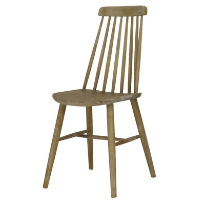 Cami Windsor Solid Wood Dining Chair Finish: Weathered