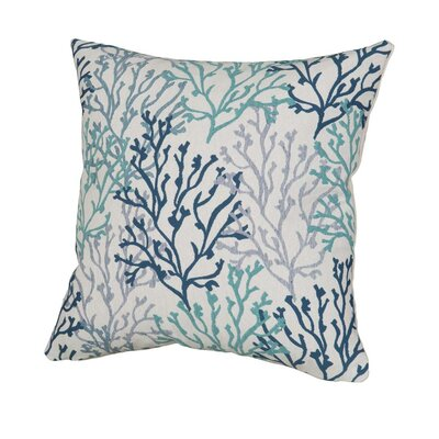 Benat Coral Isle Throw Pillow Size: 24 x 24