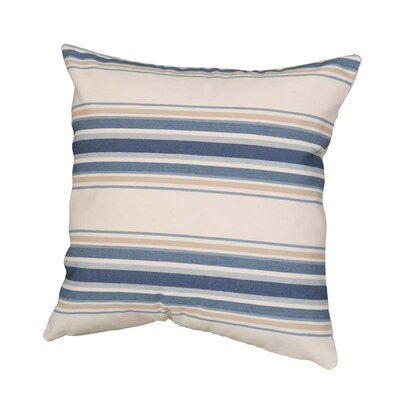 Benat Stripe Throw Pillow Size: 17 x 17