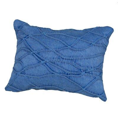 Benat Textured Waves Lumbar Pillow