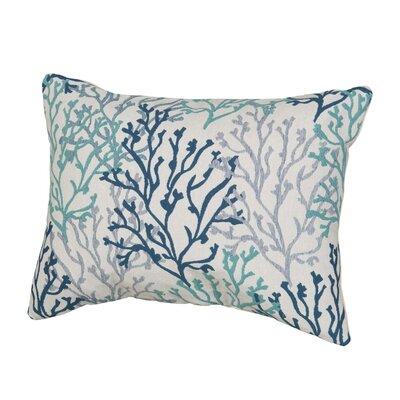 Benat Coral Isle Lumbar Pillow Size: 12 x 16