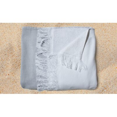 Gibson Yarn Dyed Beach Towel Color: Grey