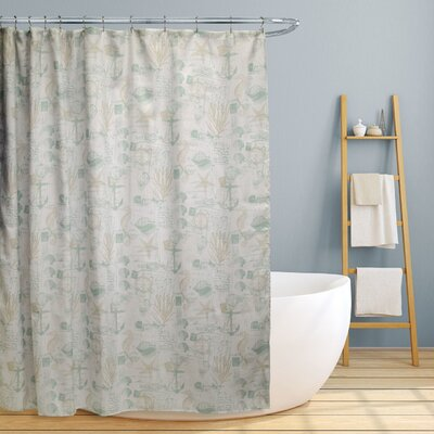 Avila Fun Nautical Shower Curtain