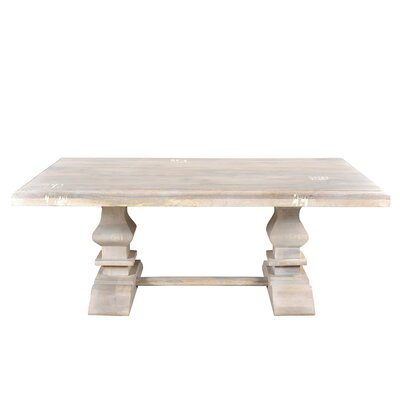 Maliyah Pedestal Coffee Table Color: Lime