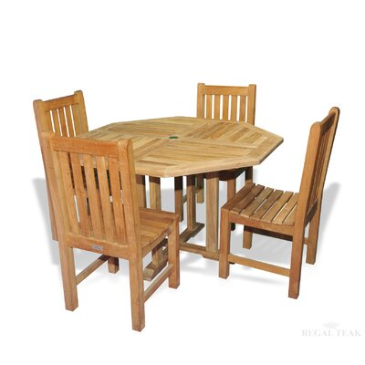 Annagrove Patio 5 Piece Dining Set