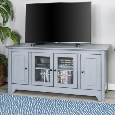 Verlie 53 TV Stand Color: Antique Gray