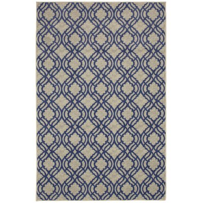 Sammons Navy Area Rug Rug Size: Rectangle 8 x 10