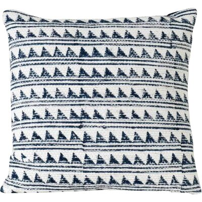 Glover Spun Threads with a Soul� Triangle Waves 100% Cotton Throw Pillow
