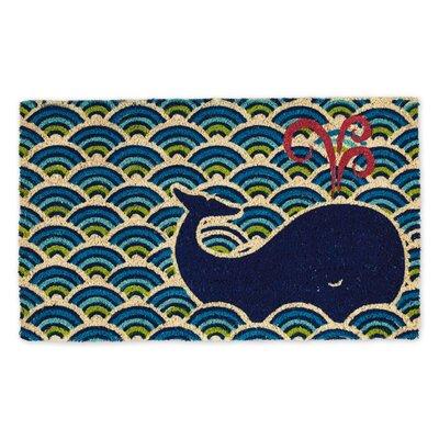 Harrietstown Whale Doormat