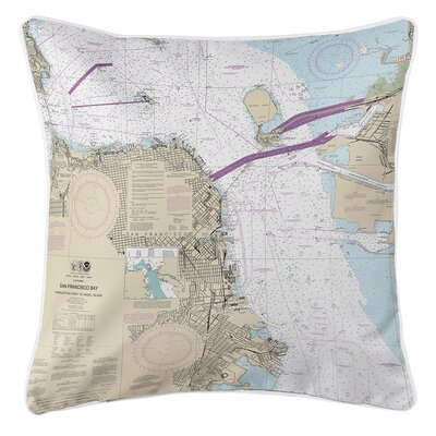 Ellisburg San Francisco, CA Throw Pillow