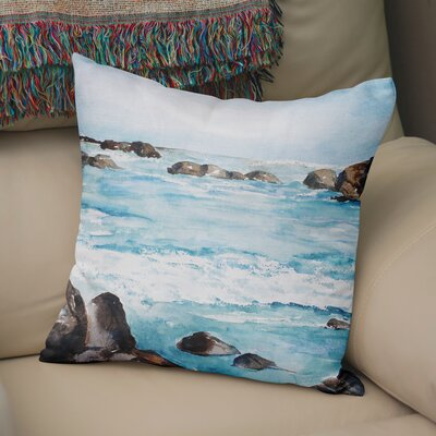 Minisink Throw Pillow Size: 18 H x 18 W x 6 D