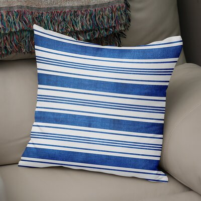 Ellicott Throw Pillow Size: 18 H x 18 W x 5 D