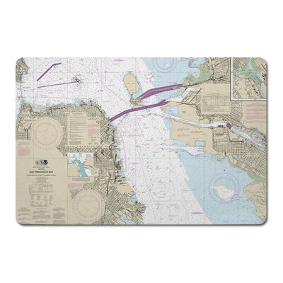 Ellisburg San Francisco, CA Rectangle Kitchen Mat