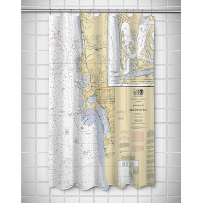 Ellisburg San Diego, CA Shower Curtain