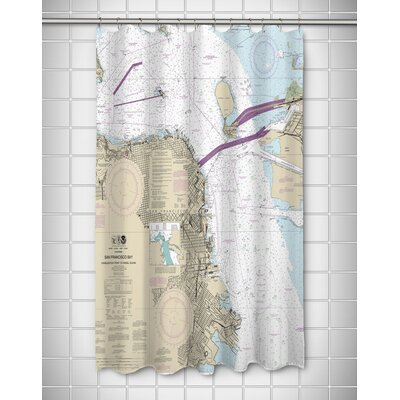 Ellisburg San Francisco, CA Shower Curtain