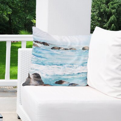 Minisink Outdoor Throw Pillow Size: 18 H x 18 W x 6 D