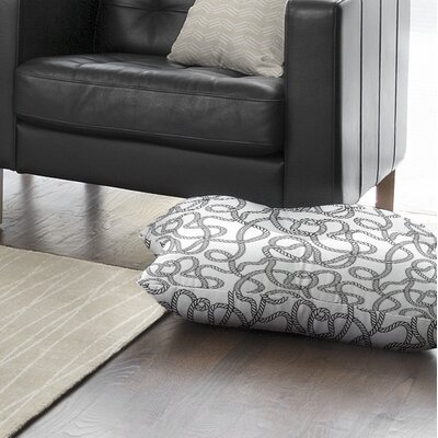Charleigh Floor Pillow Size: 23 H x 23 W