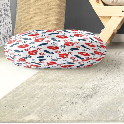 Mercer Indoor/Outdoor Floor Pillow Size: 26 H x 26 W x 8 D