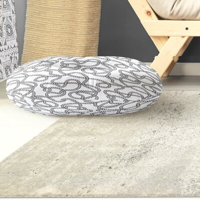 Charleigh Round Floor Pillow Size: 26 H x 26 W