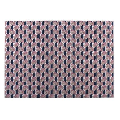 Boyer Floral Indoor/Outdoor Doormat Rug Size: 5 x 7