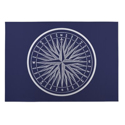 Mooers Nautical Compass Doormat