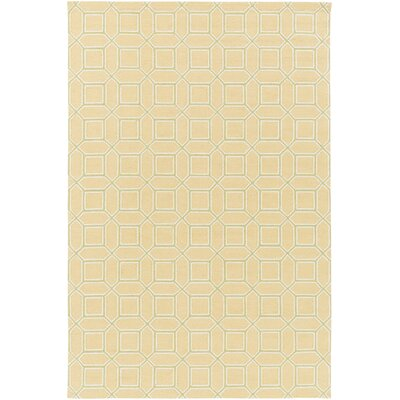 Brock Gold Geometric Area Rug Rug Size: Rectangle 9 x 13