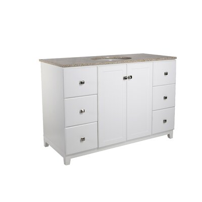 Rosalynn 2-Door 49 Single Bathroom Vanity