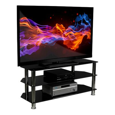Anja Glass TV Stand for Flat Screen Television