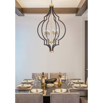 Astin 4-Light Candle Style Chandelier