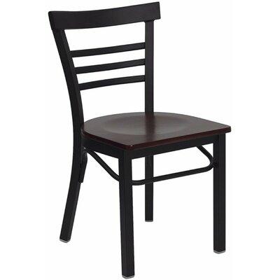 Taylor Side Chair Finish: Mahogany