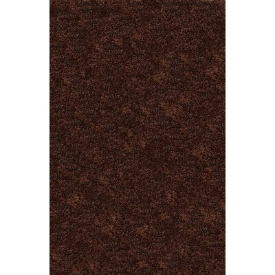 Catharine Hand-Woven Cocoa Area Rug Rug Size: 4 x 6