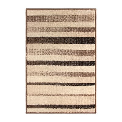 Buckingham Brown/Beige Area Rug Rug Size: Rectangle 4 x 6