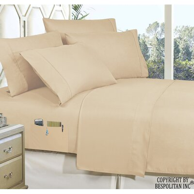 Samia Smart Luxury 4 Piece Sheet Set