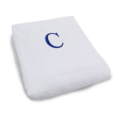Superior Monogrammed Lounge Chair Cover Letter: C