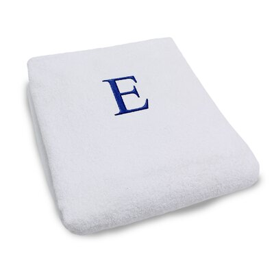 Superior Monogrammed Lounge Chair Cover Letter: E