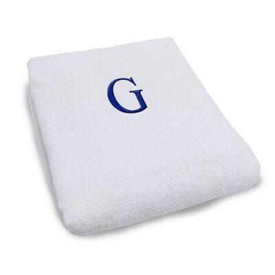 Superior Monogrammed Lounge Chair Cover Letter: G