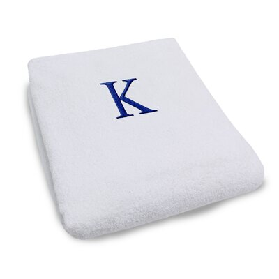 Superior Monogrammed Lounge Chair Cover Letter: K