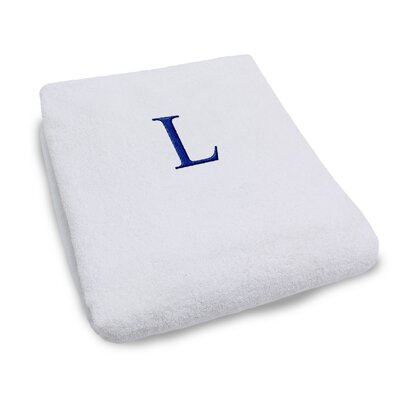 Superior Monogrammed Lounge Chair Cover Letter: L