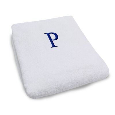 Superior Monogrammed Lounge Chair Cover Letter: P