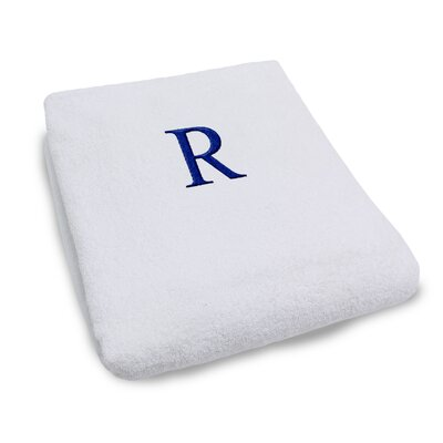 Superior Monogrammed Lounge Chair Cover Letter: R